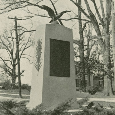 Iredell County World War I Memorial, Statesville