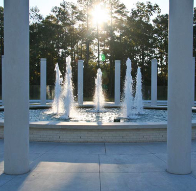 Onslow County Vietnam Memorial, Jacksonville. Photo courtesy of the City of Jacksonville