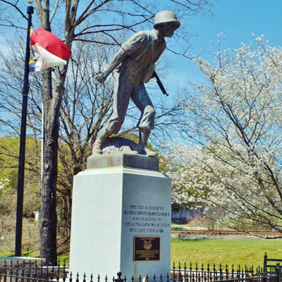 World War II Memorial, Belmont. Courtesy of Waymarking.com