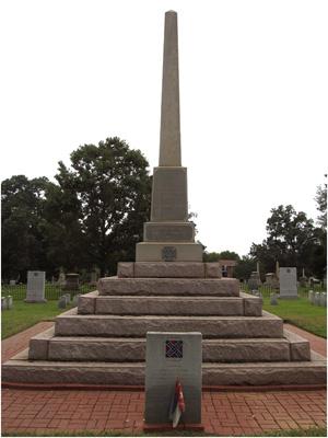 Mecklenburg County Confederate Monument.  Image courtesy of Jasmine Howard.