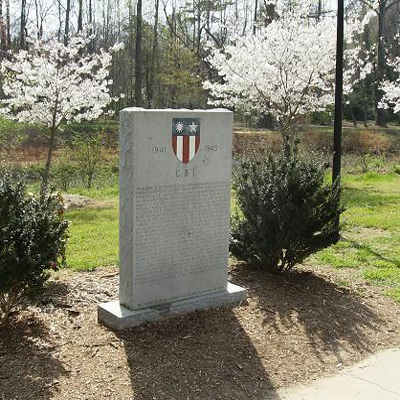 China-Burma-India (CBI) Memorial, Charlotte. Courtesy of Waymarking.com