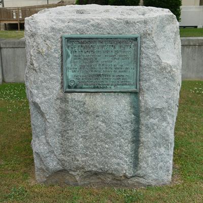 Town of Kingston Commemoration Marker, Kinston. Courtesy of Waymarking.com