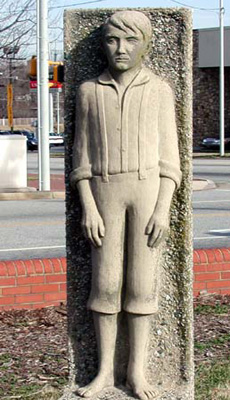 O. Henry as a Boy, Greensboro. Photo courtesy of NC ECHO, Exploring Cultural Heritage Online