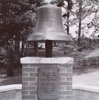 Victory Bell, ECU, Greenville. Photo courtesy of the East Carolina University