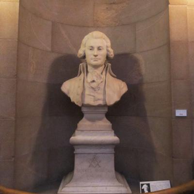 Bust of Samuel Johnston, North Carolina State Capitol, Raleigh. Photograph courtesy of Natasha Smith.