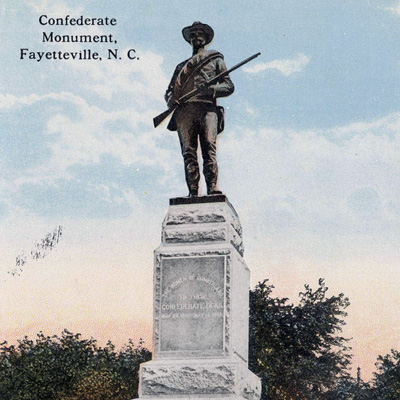 Confederate Monument, Fayetteville, NC
