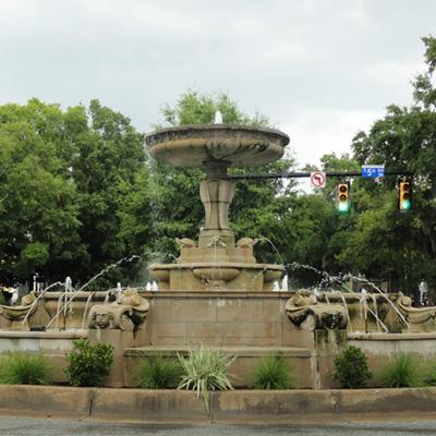 Kenan Memorial Fountain, Wilmington.  Photograph courtesy of Natasha Smith.