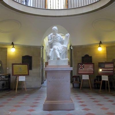 George Washington Sculpture Ncpedia