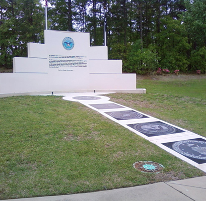Enlisted Personnel Memorial, Fort Bragg. Photo by Lee Hattabaugh, April 20, 2011, courtesy of HMdb.org