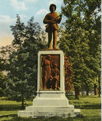 Confederate Monument, University of North Carolina.