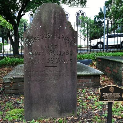 Cornelius Harnett Memorial, Wilmington.  Photograph courtesy of Natasha Smith.