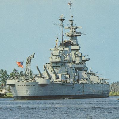 U.S.S. North Carolina Battleship Memorial, Wilmington.