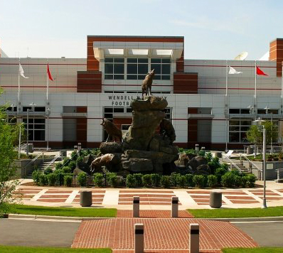 Wolfpack Turf, NCSU (Raleigh). Photo courtesy of the NC State University.