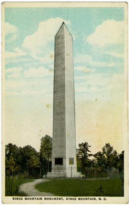 Kings Mountain U S Monument Ncpedia