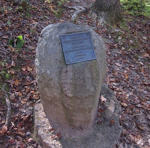 Kings Mountain Chronicle Fell Monument, Kings Mountain National Military Park, Blacksburg (SC).  Photograph courtesy of Adam Domby.