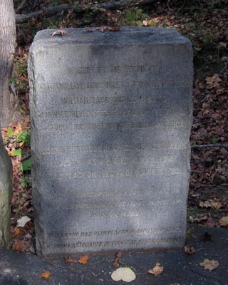 Kings Mountain 1914 Chronicle Marker, Kings Mountain National Military Park, Blacksburg (SC).  Photograph courtesy of Adam Domby.
