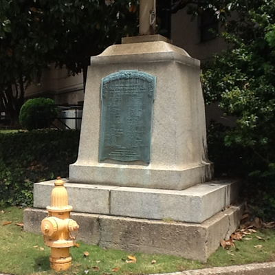 WWI Memorial, Winston-Salem. Photo by by Michael C. Wilcox, May 28, 2012, courtesy of HMdb.org