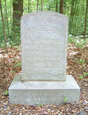 Arthur Forbis Monument