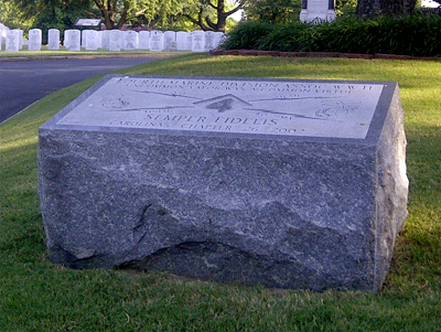 4th Marine Division Memorial, Salisbury National Cemetery. Photo courtesy of Adam Domby.