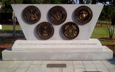 All Wars Monument, Salisbury National Cemetery. Photo courtesy of Adam Domby.