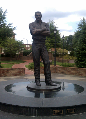 Dale Earnhardt Statue. Photo courtesy of Jennifer Gibson.