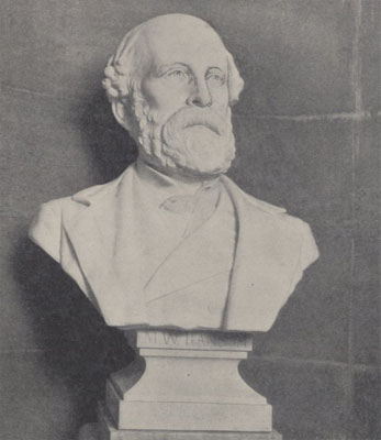 Bust of Matt W. Ransom, courtesy of Eastern Carolina University, Digital Collections