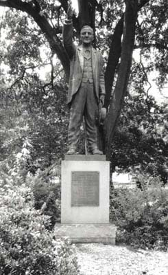 Josephus Daniels Monument.   Image used from the Smithsonian Art Inventories Catalog, Smithsonian American Art Museum.