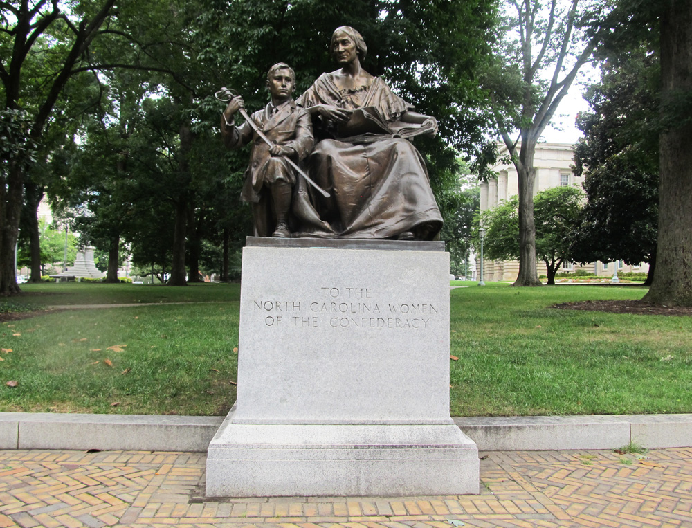 Monument To North Carolina Women Of The Confederacy Ncpedia