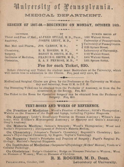 Announcement for medical study at the University of