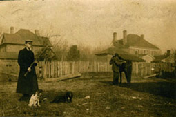 An unidentified man