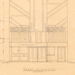 Architectural Drawing- Floor Plan Mezzanine, Front Elevation- Broadway Fayetteville