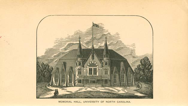 Colleges In Nc >> University of North Carolina (1793-1962). Philanthropic