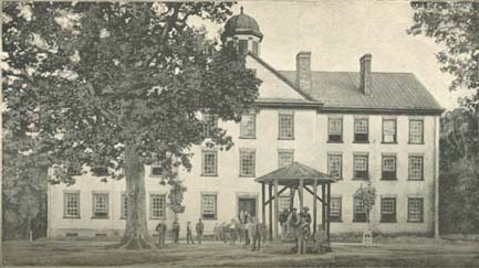 South Building at UNC-Chapel Hill - The First Century of the First State            University