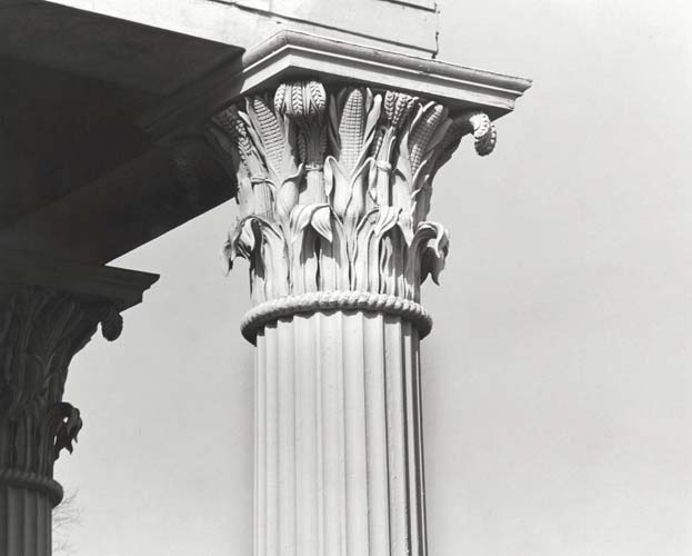 Column of Smith Hall (Playmakers Theatre)