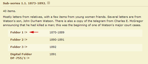 The Thomas E  Watson Papers Digital Collection : How to Use this Site