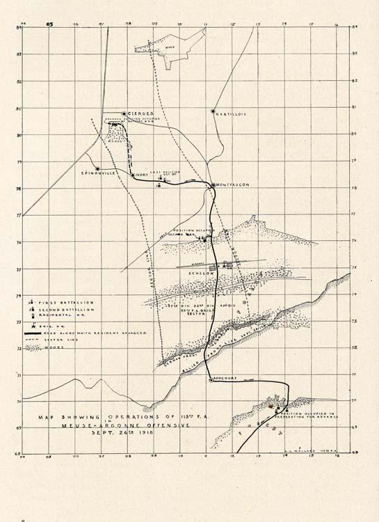 Arthur Lloyd Fletcher, 1881-. History of the 113th Field Artillery ...